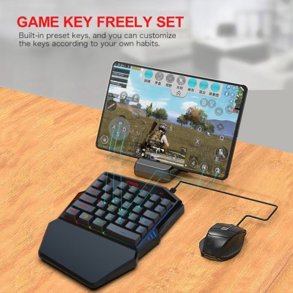 Gaming Keyboard Throne One Mouse Set