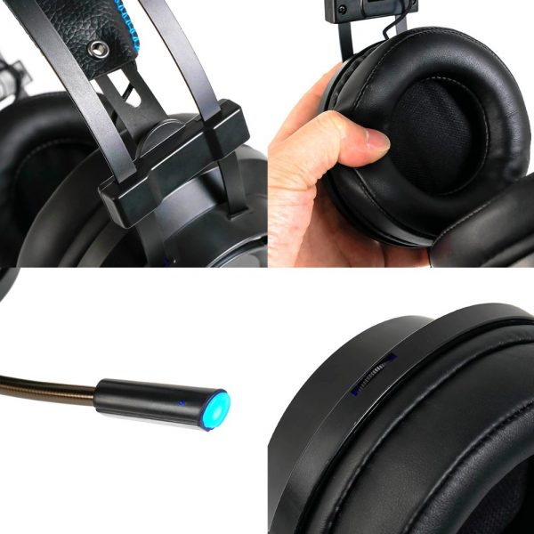 Gaming Internet Cafe Professional Gaming Headset 7.1 Channel Noise Cancelling Headset